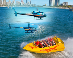 Jet Boat and Helicopter tour
